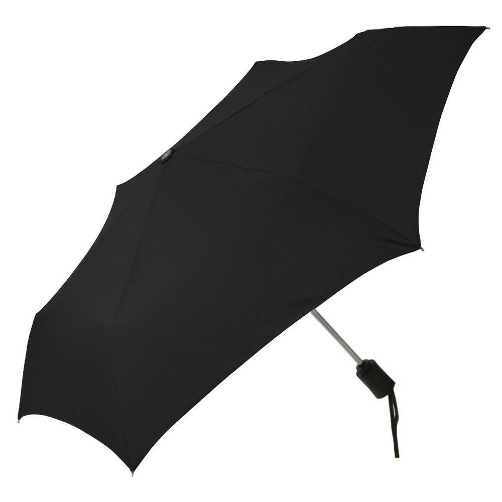 c6e86385244f ShedRain 2.3 in. Auto Open and Close Compact Umbrella in Black