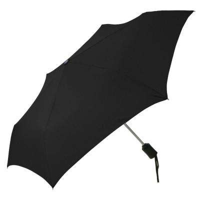 2.3 in. Auto Open and Close Compact Umbrella in Black