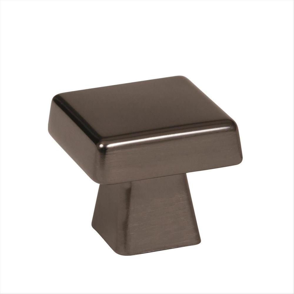 Blackrock 1-3/16 in (30 mm) Length Gunmetal Cabinet Knob