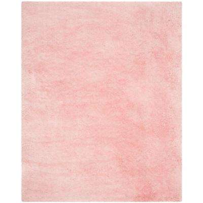 Arctic Shag Pink 9 ft. x 12 ft. Area Rug