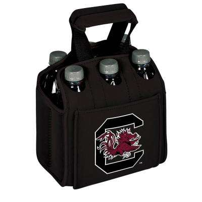 University of South Carolina Gamecocks 6-Bottles Black Beverage Carrier