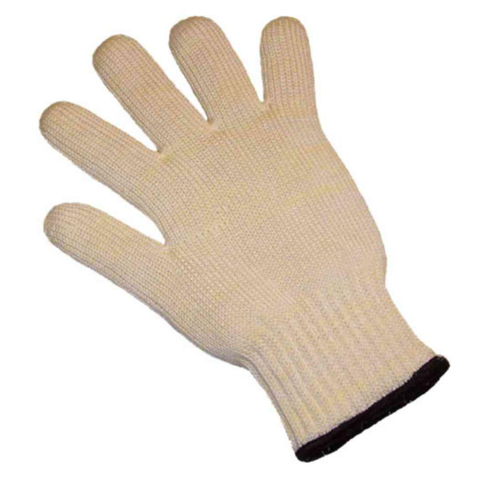 Large Flame Resistant Oven Commercial Grade Gloves, White