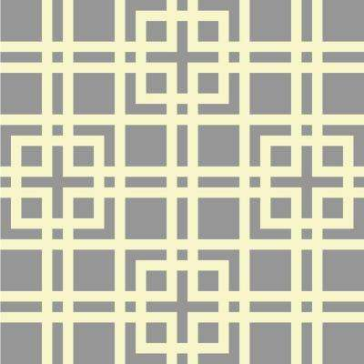 19.5 in. x 19.5 in. Modern Lattice Wall Painting Stencil