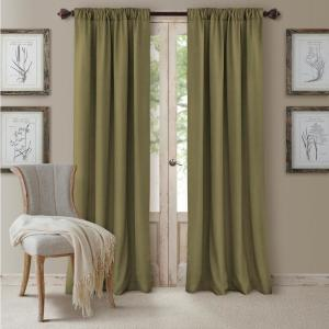 Click here to buy  Blackout Cachet 52 inch W x 84 inch L Blackout Window Curtain Panel Glade.