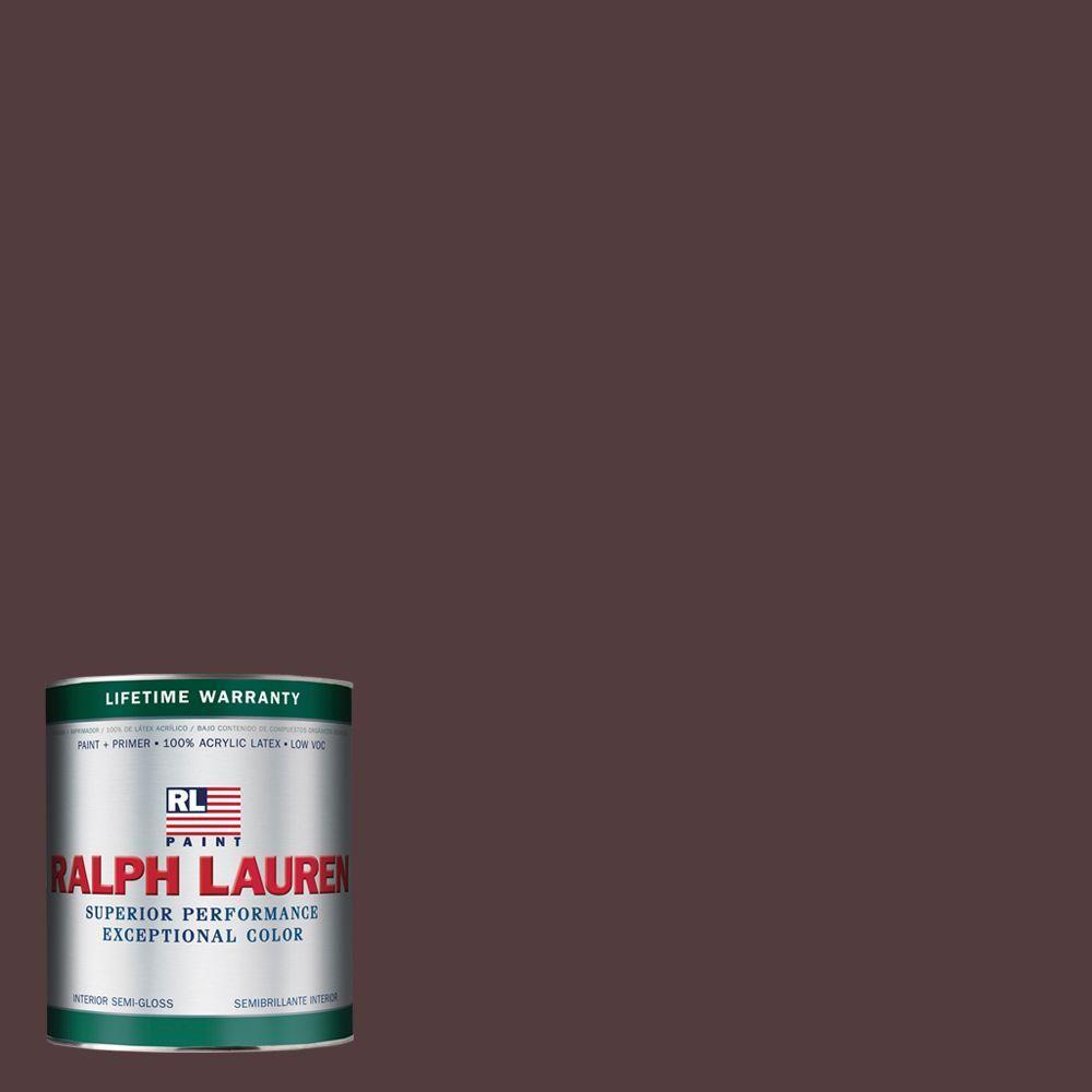 Ralph Lauren 1-qt. Bengal Ruby Semi-Gloss Interior Paint