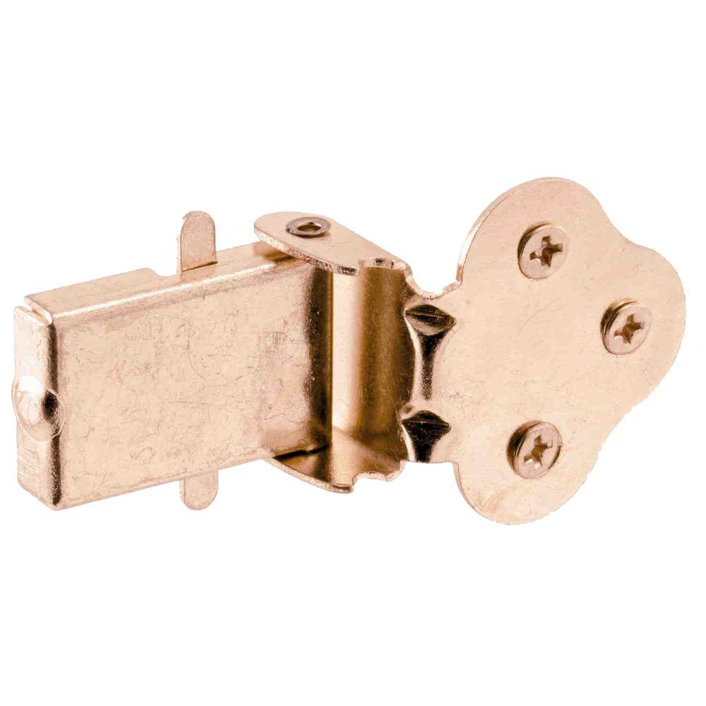 Brass-Plated Double-Hung Window Flip Latch