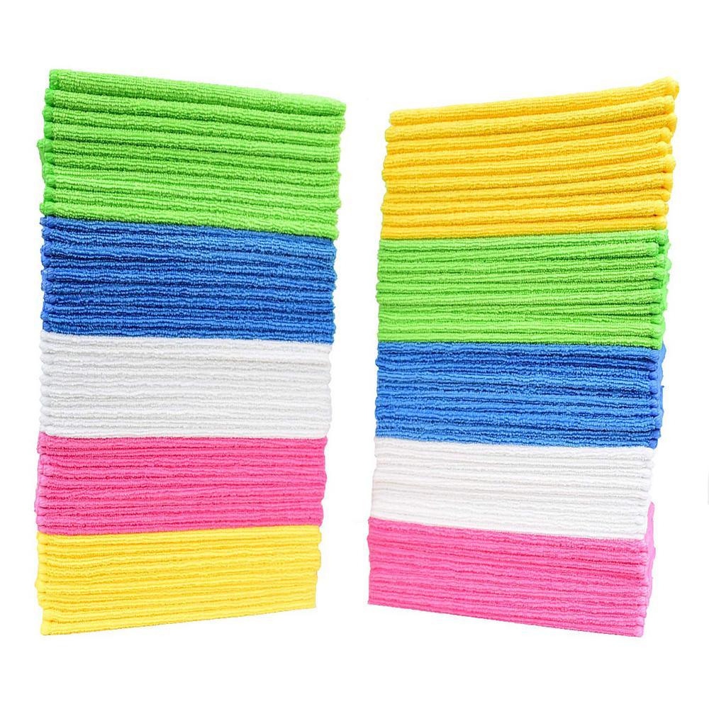 16 in. x 12 in. Microfiber Cloth (50-Pack)