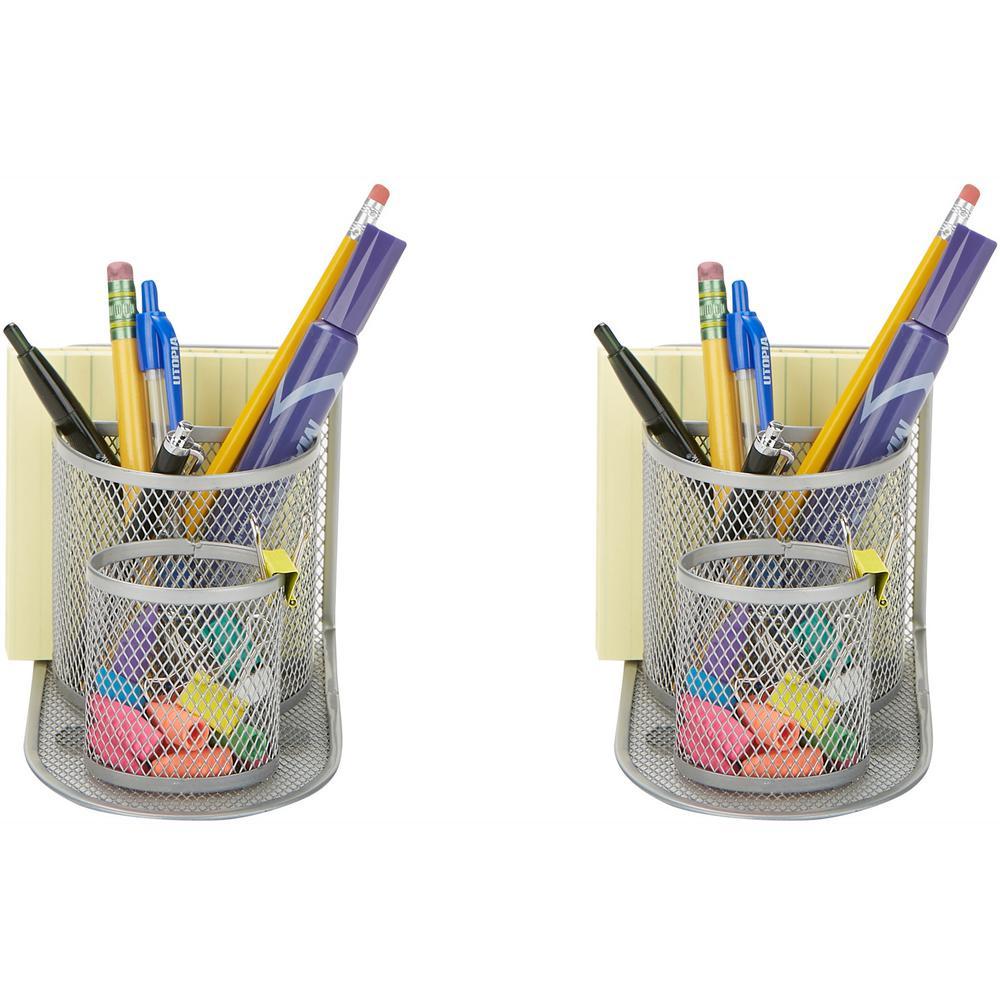 Mind Reader 2 Piece Pencil Organizer