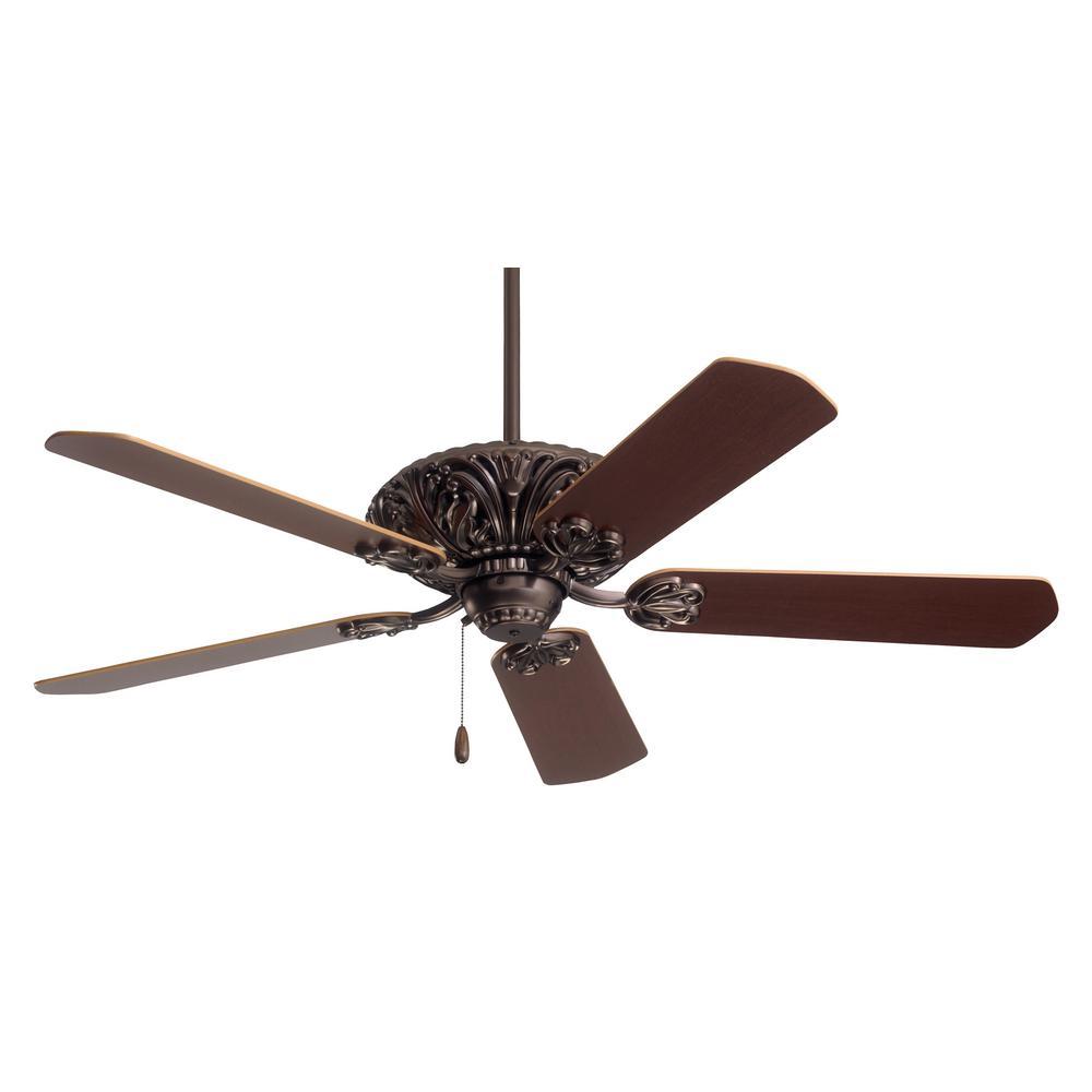 Zurich 52 in. LED Oil Rubbed Bronze Ceiling Fan