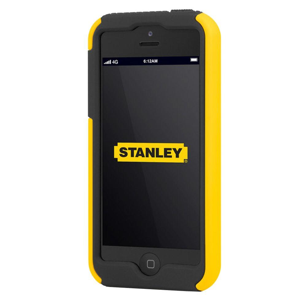 Stanley Highwire iPhone 5 Rugged 2-Piece Smart Phone Case - Black and Yellow