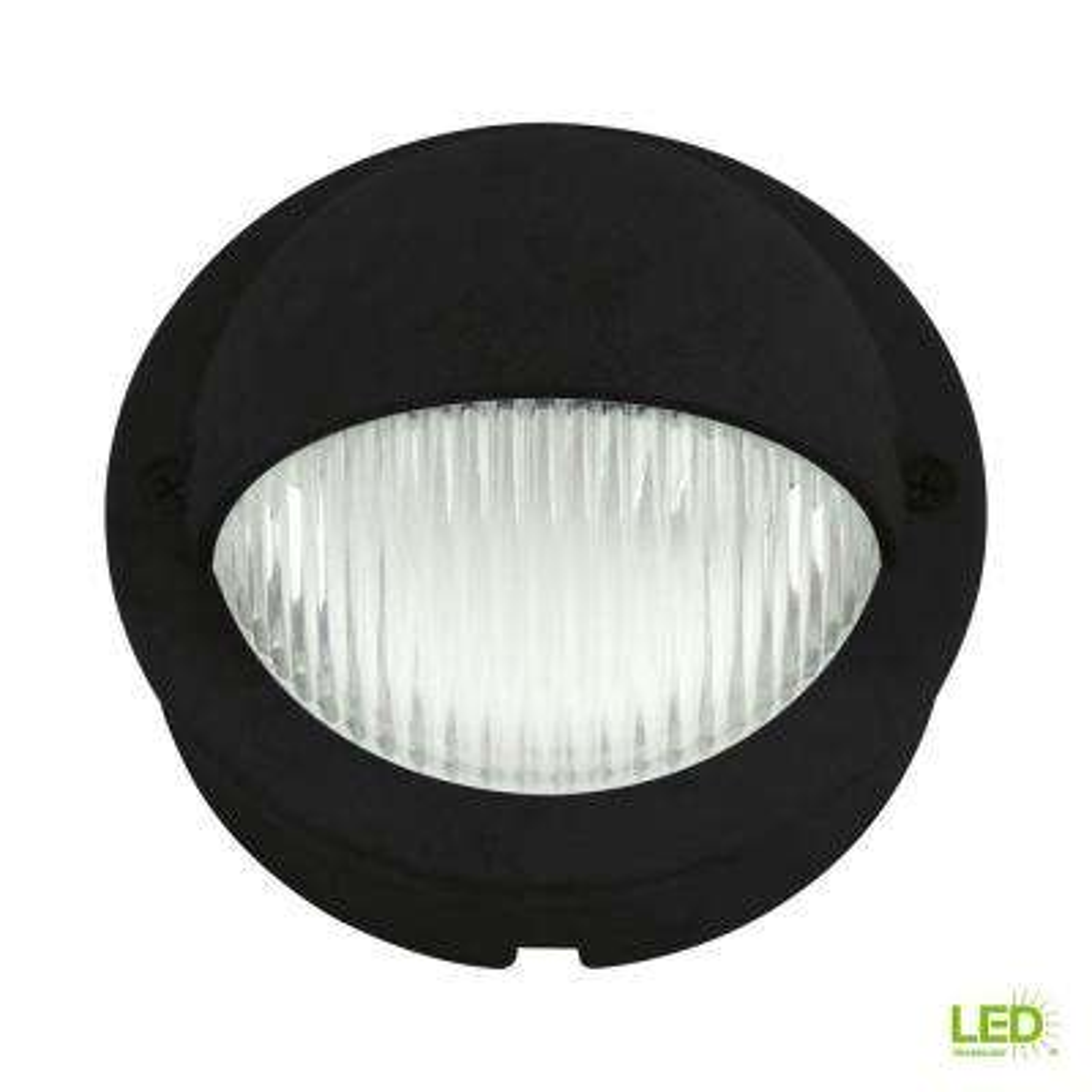 Low-Voltage LED 1.5-Watt Black Landscape Decklight