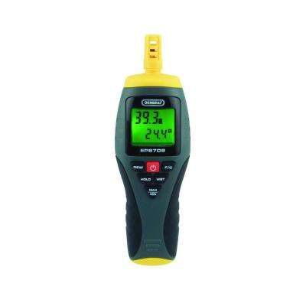 4-Function Digital Thermo-Hygrometer Psychrometer