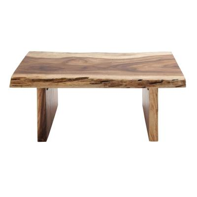 Natural Brown Teak Wood Raha-Style Coffee Table