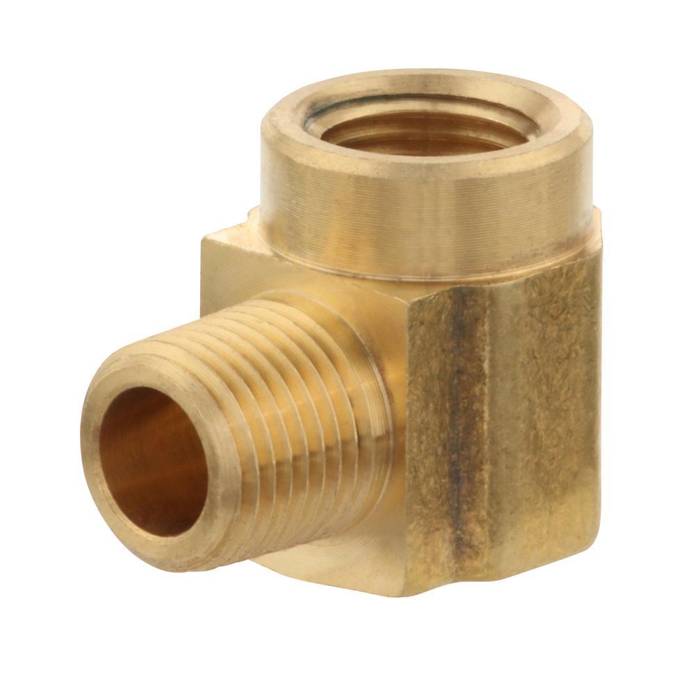 1/8 in. MIP x 1/8 in. FIP 90-Degree Brass Street Elbow Fitting