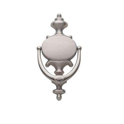 Imperial Door Knocker in Satin Nickel