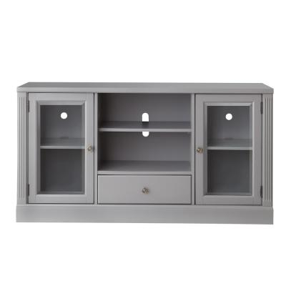Edinburgh Grey Glass Door Modular TV Stand
