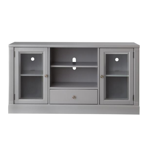 Edinburgh Grey Glass Door Modular TV Stand 6335-892