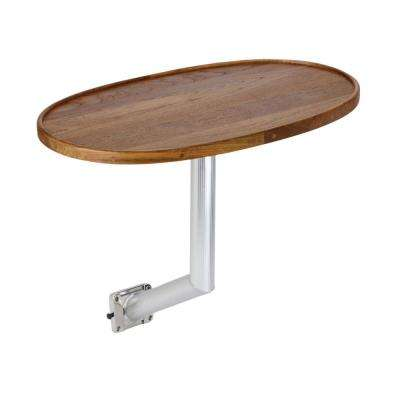 Teak Table with Side Mount System