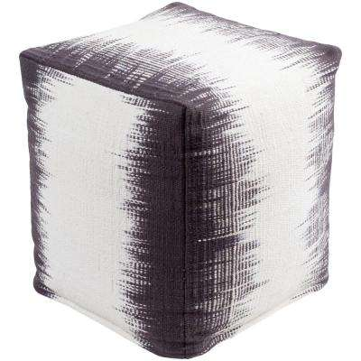 Saxa Purple Accent Pouf