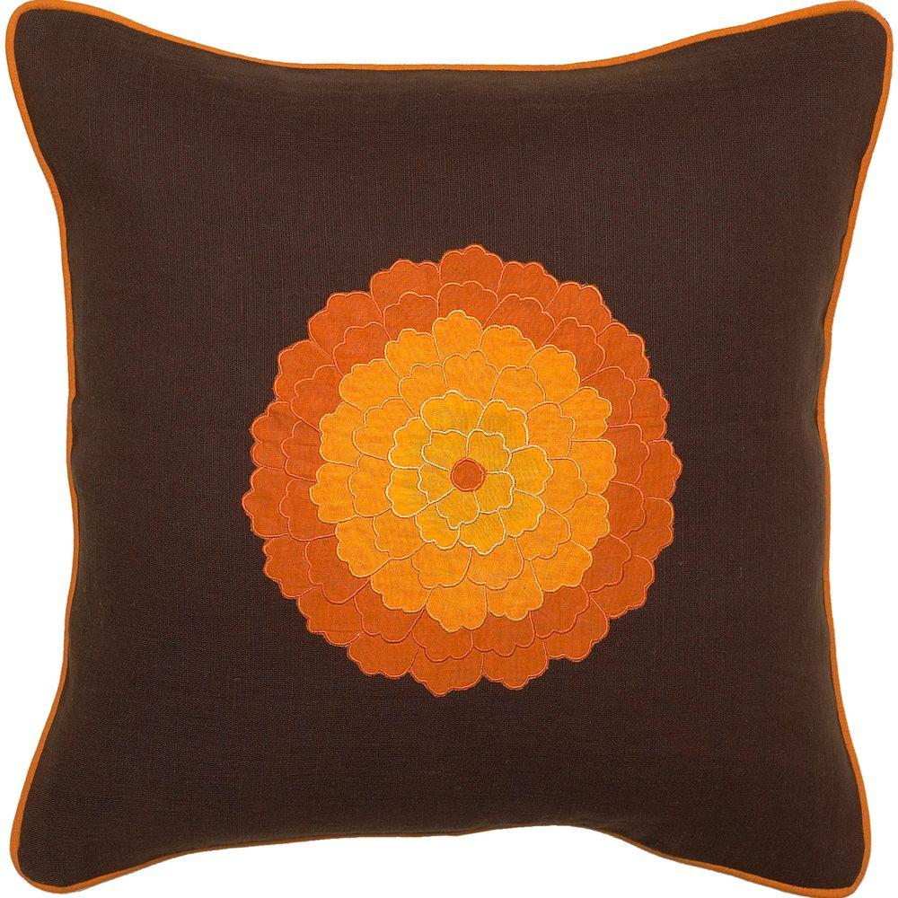 Artistic Weavers PetalsA2 18 in. x 18 in. Decorative Down Pillow