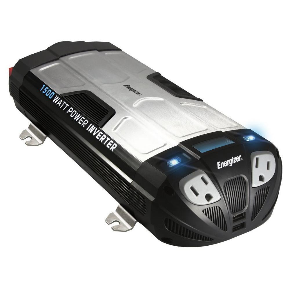 Energizer 1500-Watt 12-Volt Power Inverter