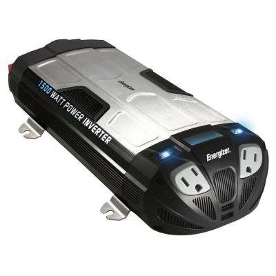1500-Watt 12-Volt Power Inverter