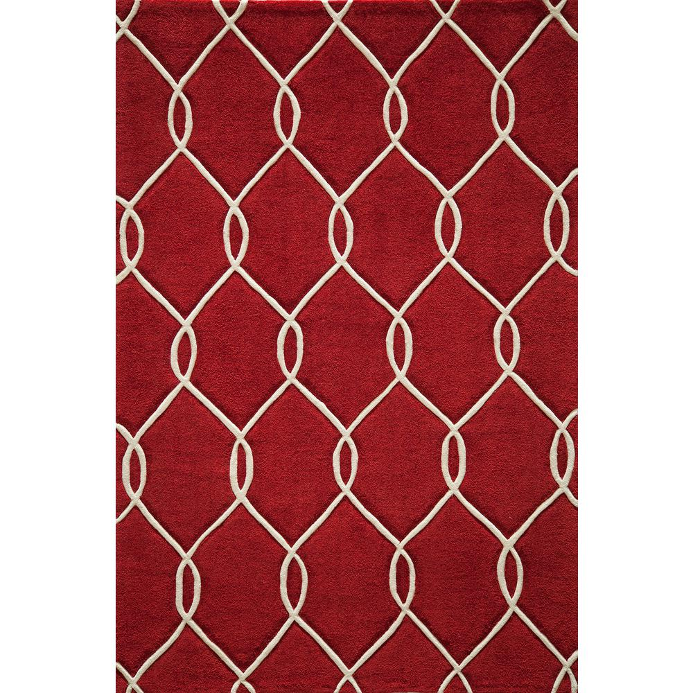 Bliss Red 3 ft. 6 in. x 5 ft. 6 in.