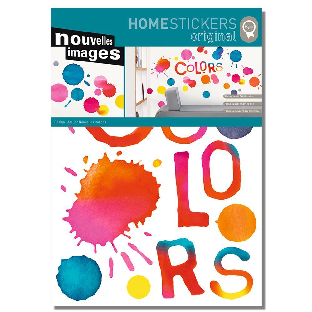 Multicolored Spots Home Sticker