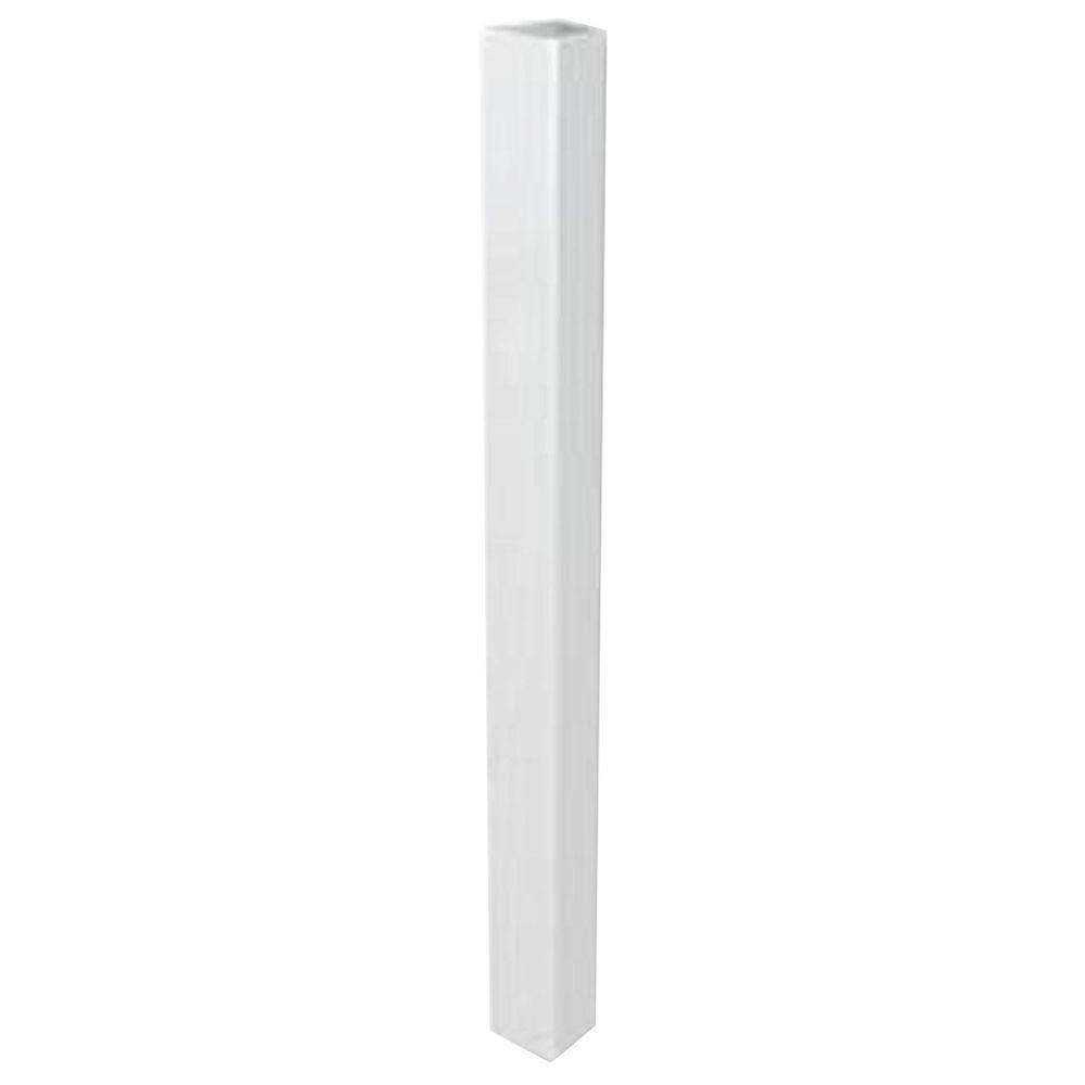 Veranda 4 in. x 4 in. x 39 in. White Traditional Post Jacket