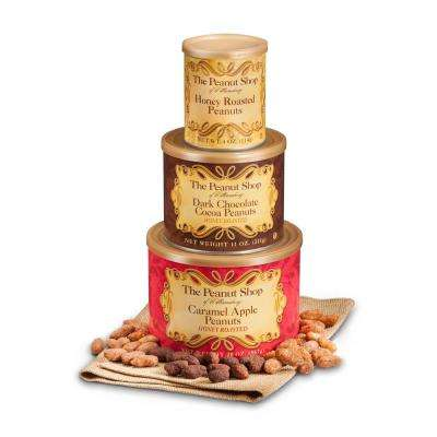 Honey Roasted Tower with Honey Roasted Caramel Apple Nuts, Dark Choc Cocoa Nuts and Honey Roasted Nuts