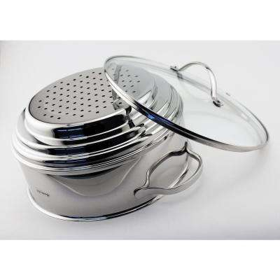 Cook'n'Co 2-Piece Stainless Steel Pot Insert