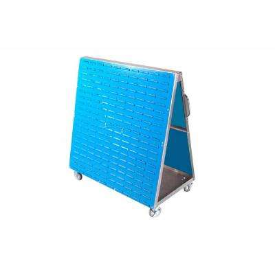 29-3/4 in. W Aluminum Frame Mobile Louvered Panel Cart