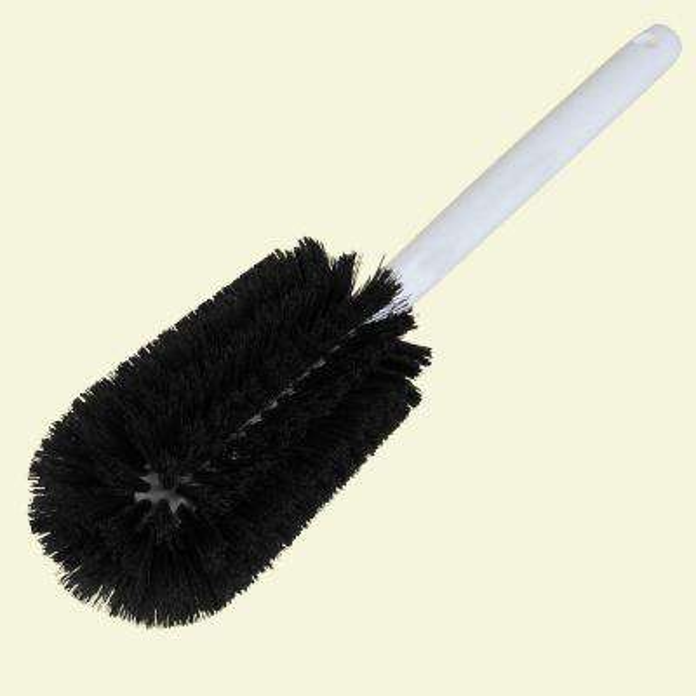 16 in. W x 3.25 in. Dia Polyester Bottle Brush (Case of 12)