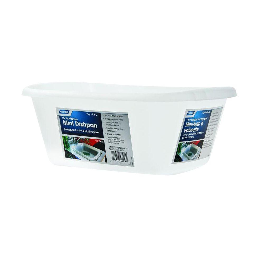 Camco Mini Dish Pan Natural 43516 The Home Depot