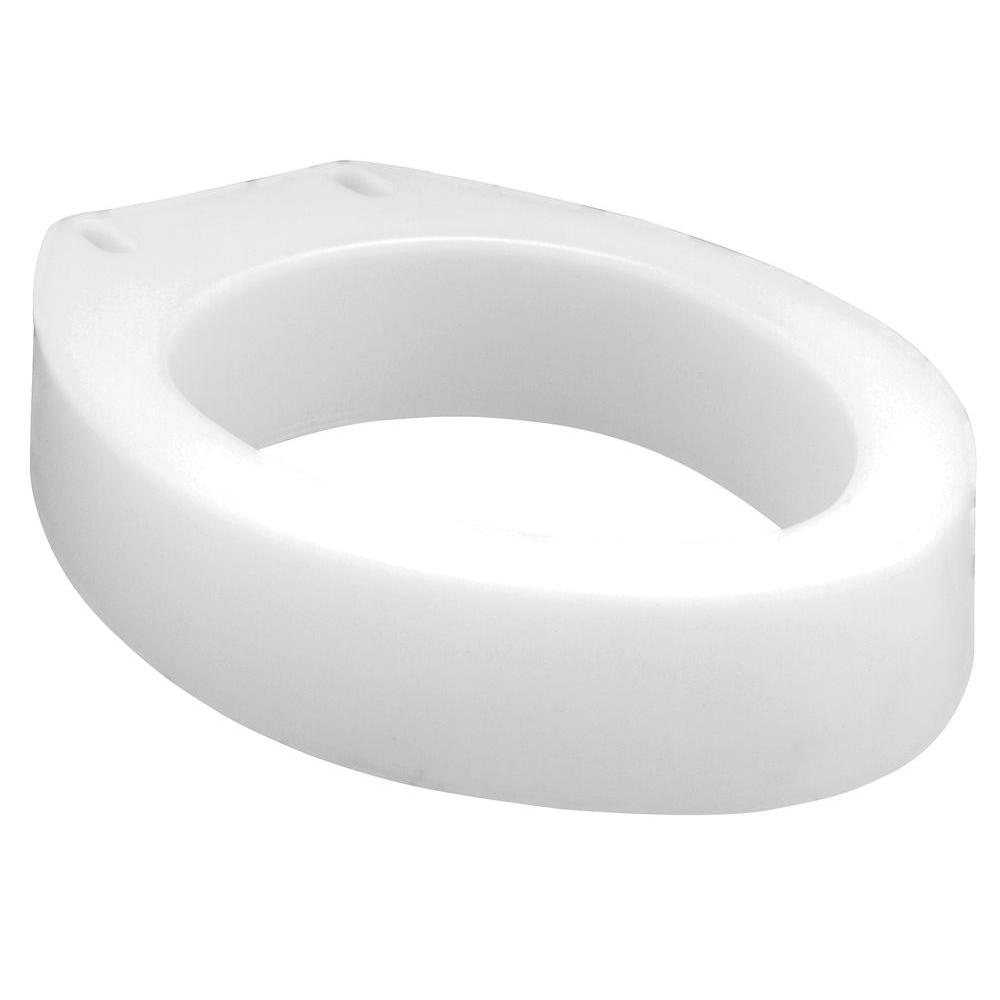 Carex Health Brands Toilet Seat Elevator, Elongated