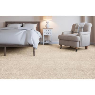 Soft Breath II - Color Abbey Texture 12 ft. Carpet