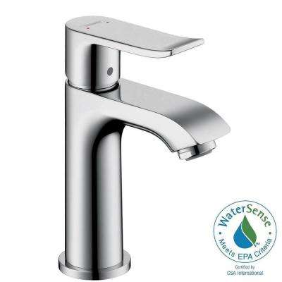 Metris E 100 Single Hole 1-Handle Low-Arc Bathroom Faucet in Chrome