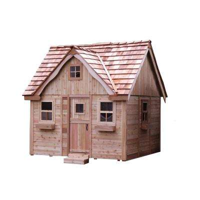 9 ft. x 9 ft. Laurens Cottage Playhouse