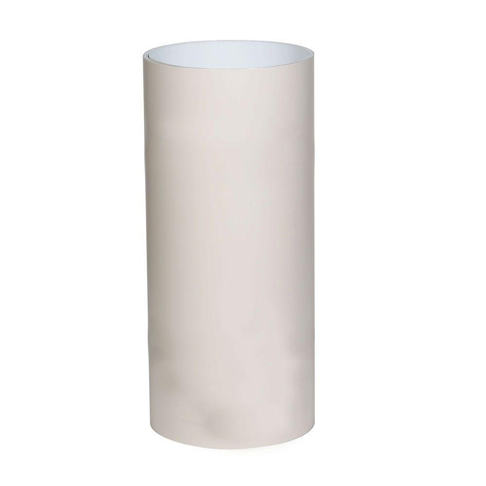 24 in. x 50 ft. Pebblestone Clay PVC Coated Aluminum Trim Coil