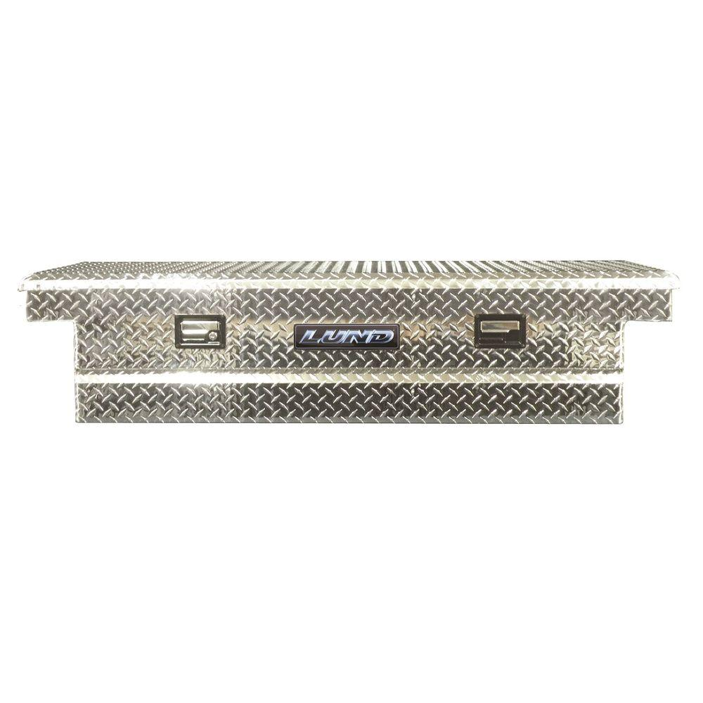 Lund 70 in. Aluminum Cross Bed Truck Tool Box