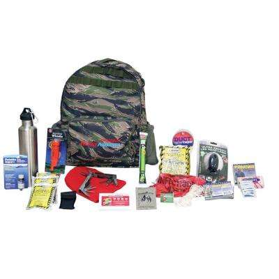 1-Person Deluxe Outdoor Survival Kit