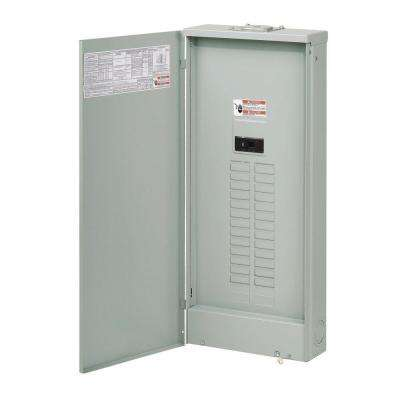 BR 200 Amp 40-Space 40-Circuit Outdoor Main Breaker Loadcenter with Cover
