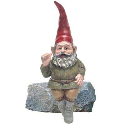 13 in. Rumple the Gnome Shelf Sitter Statue