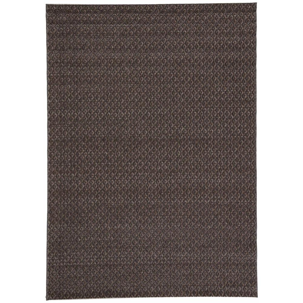 Jaipur rugs jet black 8 ft x 10 ft geometric indoor for Geometric print area rugs