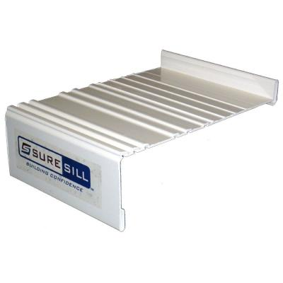 6-9/16 in. White Sloped Sill Pan Extension Couplings Flashing (10-Pack)