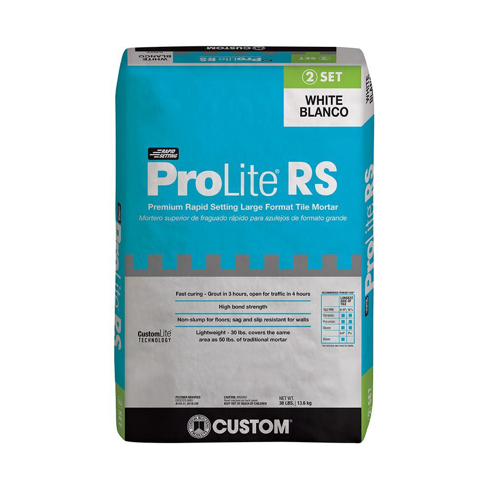ProLite White 30 lb. Rapid Setting Tile and Stone Mortar