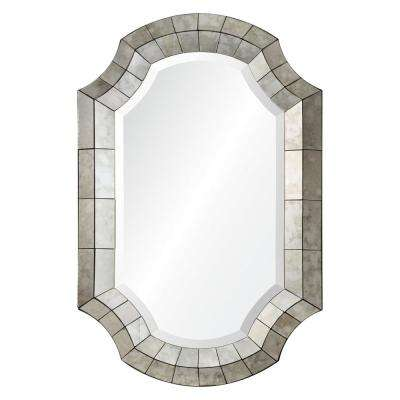 Clarke 36 in. x 24 in. Framed Wall Mirror