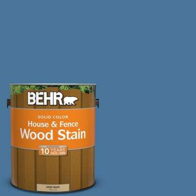 1 gal. #580D-6 Liberty Solid Color House and Fence Exterior Wood Stain