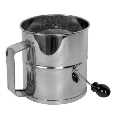 Stainless Steel 8-Cup Flour Sifter