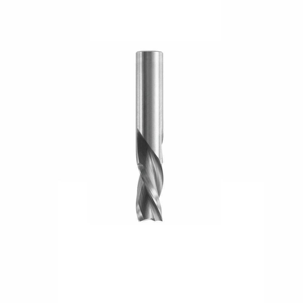 Bosch 1/2 in. x 1 in. Solid Carbide 3-Flute Downcut Spiral Bit